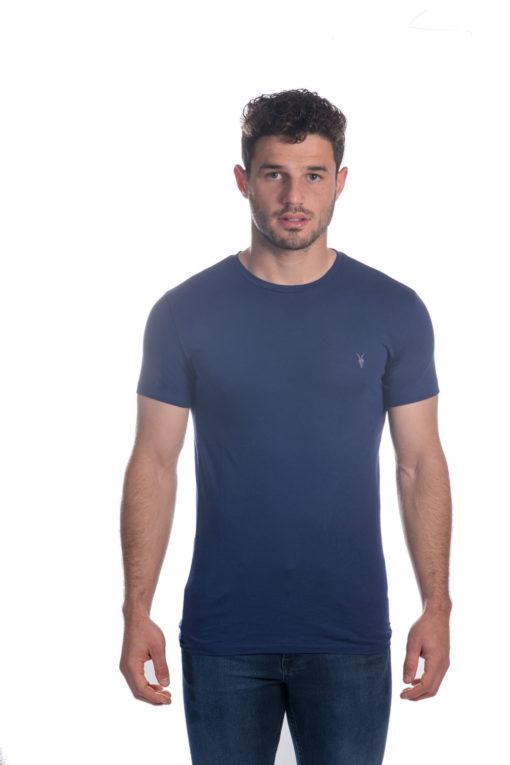 ALL SAINTS T-SHIRT בצבע כחול רויאל 1