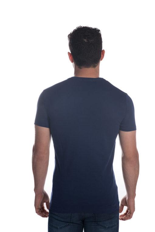 ALL SAINTS T-SHIRT בצבע כחול רויאל 4