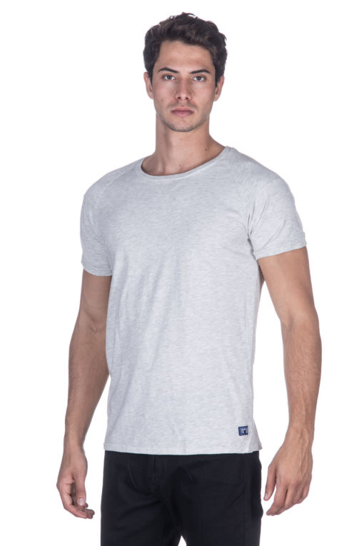 Scotch & Soda T-Shirt בצבע אפור בהיר 1