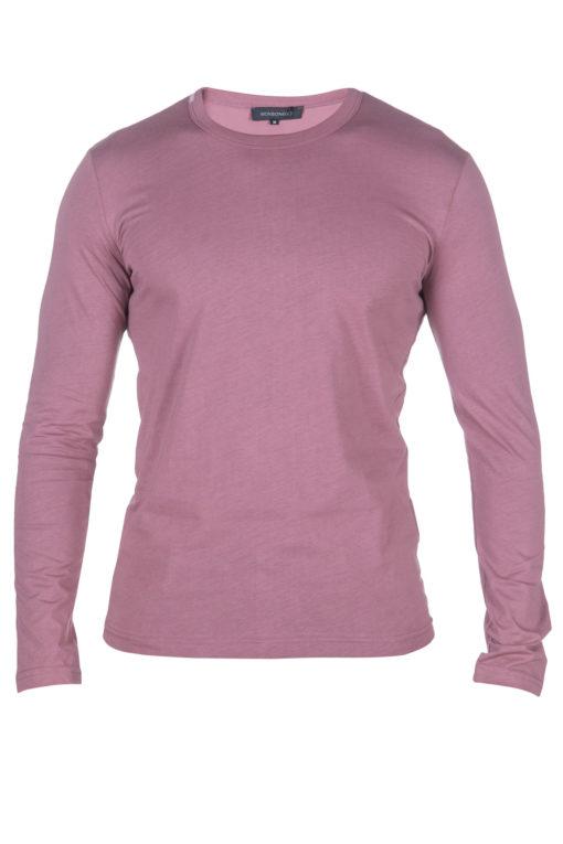 """חולצת בייסיק מבית """"מונסונגו"""" , שרוול ארוך בגזרה מדויקת פתח צוואר עגול 1"""