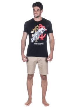 Roberto Cavalli טי שירט FST657 A#224 01