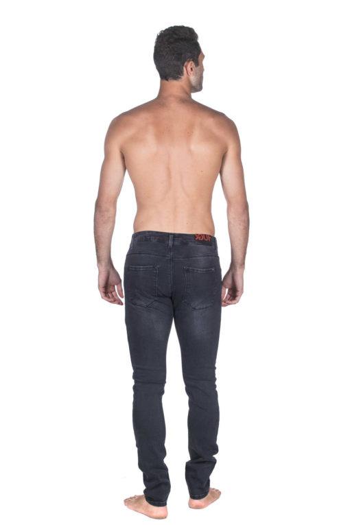 ג'ינס HUGO BOSS SLIM FIT  אפור במראה משופשף 03