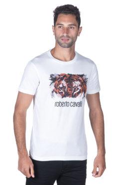 Roberto Cavalli טי שירט FST652-A#219 01