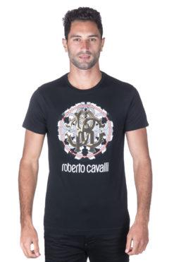 Roberto Cavalli טי שירט FST655-A#222 01